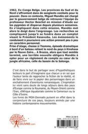 Aller Simple Pour Brazza - 4ème de couverture - Format classique