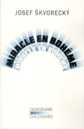 Miracle en Bohême - Couverture - Format classique