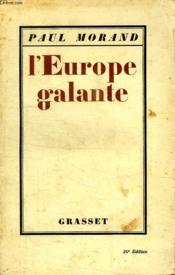 L Europe Galante. - Couverture - Format classique