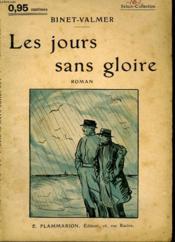 Les Jours Sans Gloire. Collection : Select Collection N° 162 - Couverture - Format classique