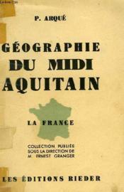 Geographie Du Midi Aquitain - Couverture - Format classique