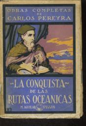 La Conquista De Las Rutas Oceanicas - Couverture - Format classique