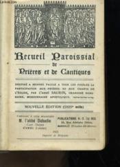 Recueil Paroissial De Prieres Et De Cantiques - Couverture - Format classique
