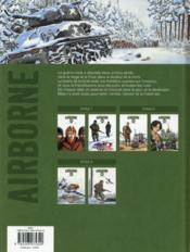 Airborne 44 T.6 ; l'hiver aux armes - 4ème de couverture - Format classique