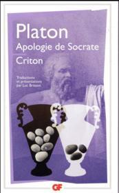 Apologie de Socrate ; criton - Couverture - Format classique
