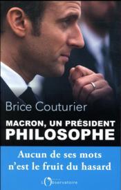 Macron, un président philosophe - Couverture - Format classique