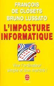 L'Imposture Informatique - Couverture - Format classique