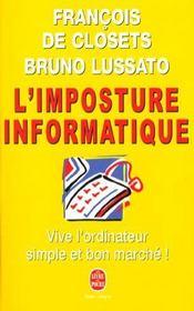 L'Imposture Informatique - Intérieur - Format classique