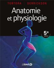 Anatomie et physiologie (5e édition) - Couverture - Format classique