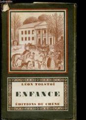 NIKOLENKA - ENFANCE suivi de SOUVENIRS D'ENFANCE - Couverture - Format classique