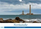 Normandie, la côte nord cotentin (calendrier mural 2021 din a4 horizontal) - a travers la basse-norm - Couverture - Format classique