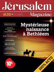 Jérusalem magazine - Couverture - Format classique