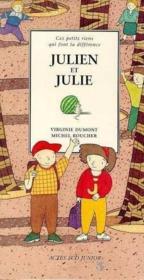 Julien et julie ou cent facons d'avoir des copains ou - vol2 - Couverture - Format classique