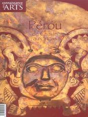 Connaissance Des Arts N.278 ; Pérou ; De Chavín Aux Incas - Intérieur - Format classique
