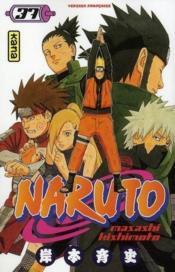 Naruto T.37 - Couverture - Format classique