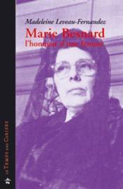 Marie Besnard, l'honneur d'une femme - Couverture - Format classique