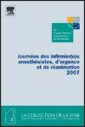 Journees Des Infirmier(E)S Anesthesistes, D'Urgence Et De Reanimation 2007 - Intérieur - Format classique