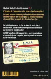 Langelot 05 - Langelot Et Le Gratte-Ciel - 4ème de couverture - Format classique