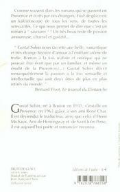 Fruit De Glace - 4ème de couverture - Format classique