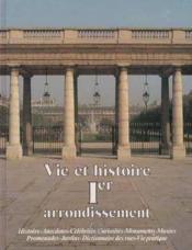 Vie et histoire 1er arrondissement paris - Couverture - Format classique