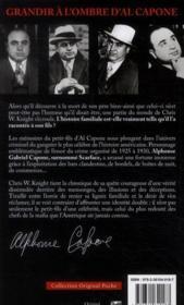 Al Capone ; la veritable histoire de Scarface - 4ème de couverture - Format classique