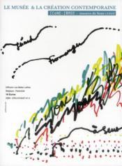 Icône image t.7 ; le musée et la création contemporaine - 4ème de couverture - Format classique