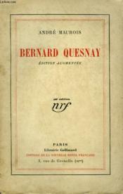 Bernard Quesnay. - Couverture - Format classique