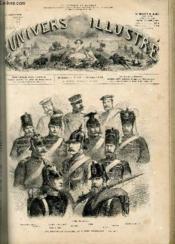 L'UNIVERS ILLUSTRE - TREIZIEME ANNEE N° 822 - Les principales coiffures de l'armée Prussienne. - Couverture - Format classique
