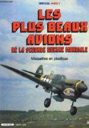Les Plus Beaux Avions De La Seconde Guerre Mondiale - Couverture - Format classique