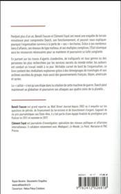 Un cartel nommé Daech - 4ème de couverture - Format classique