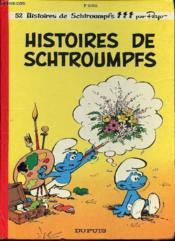 Les Schtroumpfs T.8 ; histoires de Schtroumpfs - Couverture - Format classique
