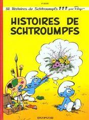 Les Schtroumpfs T.8 ; histoires de Schtroumpfs - Intérieur - Format classique