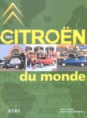 Les Citroen Du Monde - Intérieur - Format classique