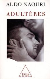 Adultères - Couverture - Format classique