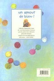 Un amour de bisou - 4ème de couverture - Format classique