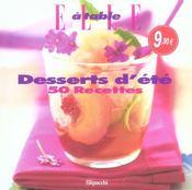 50 Recettes Desserts D'Ete - Intérieur - Format classique