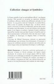 Les emblèmes de la France - 4ème de couverture - Format classique