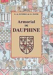 Armorial De Dauphine - Couverture - Format classique