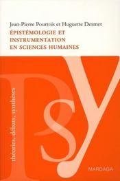 Épistémologie et instrumentation en sciences humaines - Intérieur - Format classique
