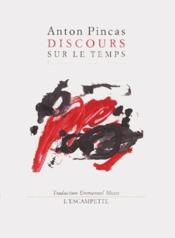 Discours Sur Le Temps - Couverture - Format classique
