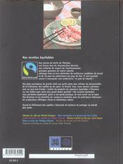 Nos Recettes Equitables - 4ème de couverture - Format classique