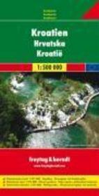 Croatie 1/500.000 - Couverture - Format classique