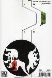 Air gear t.10 - 4ème de couverture - Format classique