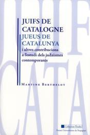 Juifs De Catalogne - Couverture - Format classique