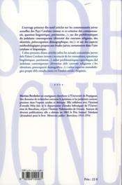 Juifs De Catalogne - 4ème de couverture - Format classique