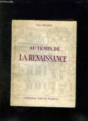 Au Temps De La Renaissance. Mathieu De Croixval. Page De Sa Majeste Henri Ii. - Couverture - Format classique