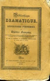 BIBLIOTHEQUE DRAMATIQUE, ou REPERTOIRE UNIVERSEL DU THEATRE FRANCAIS avec des remarques, des notices, et l'examen de chaque piece - Auteurs contemporains, M. ETIENNE, TOME 2 - Couverture - Format classique