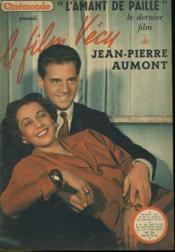 Le Film Vecu - L'Amant De Paille - N°34 - Couverture - Format classique