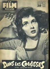 Film Complet N° 578 - Dans Les Coulisses - Couverture - Format classique