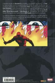 Daredevil par Franck Miller T.3 - 4ème de couverture - Format classique